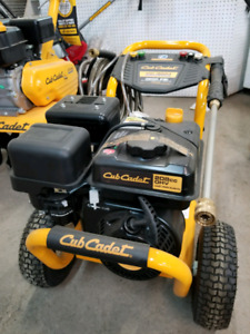 Cub Cadet 3200 Psi pressure washer