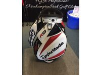 TAYLORMADE R9 8.5 inch TOUR BAG. AVERAGE CONDITION