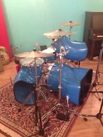 1970s Staccato 9pc Drum Kit