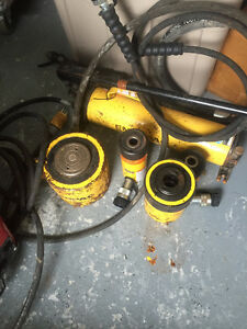 Enerpac  hydroutec cylinders and pump with hoes St. John's Newfoundland image 1