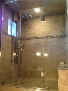Frameless Shower Glass Doors Enclosures bathtubs - Mirrors etc. Kitchener / Waterloo Kitchener Area image 8