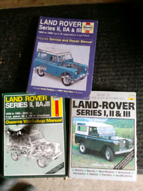 Land Rover Haynes manuals