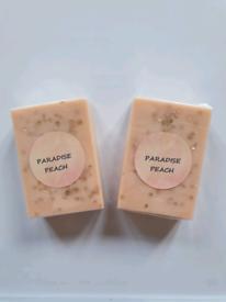Paradise peach soap