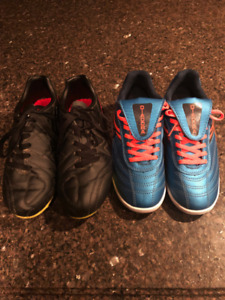 FREE Soccer Shoes Boys Size 3 and 4