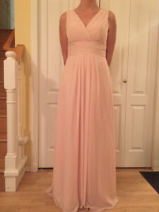 Like New Bill Levkoff Pale Pink Bridesmaid or Grad Dress