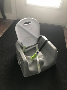Toddler Booster Seat with tray ! NEW NEVER USED !