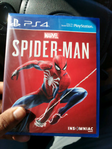 SELLING BRAND NEW SPIDER-MAN PS4