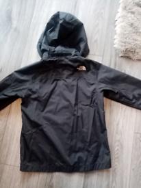 Boys XS (5-6) Black North Face Jacket