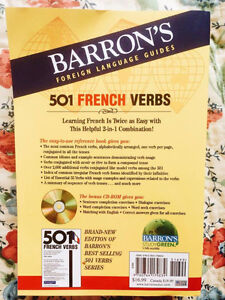 BARRON'S 501 French Verbs Regina Regina Area image 2