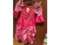 Girls Disney princess dressing up dress age 6-7