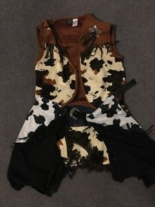 Kids Cow girl costume