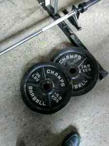 Weight's and dumbbells