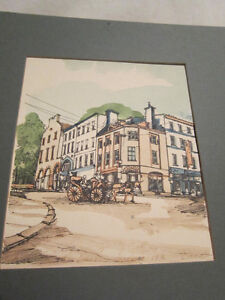 Unframed - Original Watercolor Painting from 1976