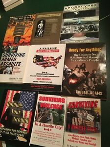 6 PAPERBACK BOOKS_SURVIVING DISASTER AND HOW TO'S