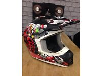 Motocross Helmet Size Large Great Design New Condition