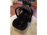 Sliver Cross simplicity car seat