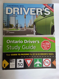 Drivers Hand Book and drivers Study guide(2 books) together
