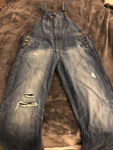 Silver & Fidelity Jeans & AE Coveralls For Sale Size M-L