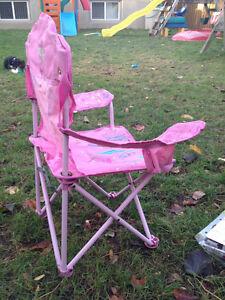 Pink princess camping chair Kitchener / Waterloo Kitchener Area image 4