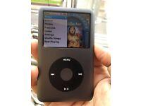 Apple iPod classic 7th gen 160GB black