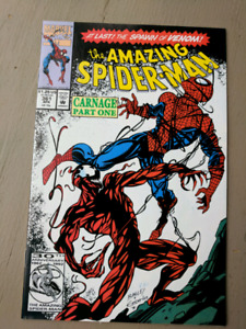 Amazing spiderman 361 first carnage