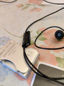 Sennheiser I300 and MP3 player
