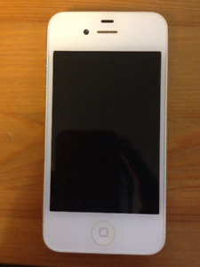 White Iphone 4 with 16gb Amazing Condition