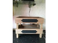 Brand new Wooden stackable fruit / vegetable crates