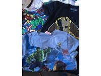 Boys marvel t-shirts