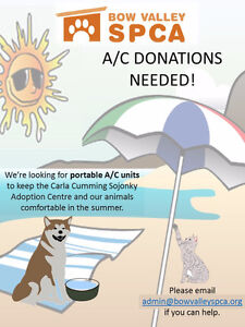 Wanted: portable A/C units