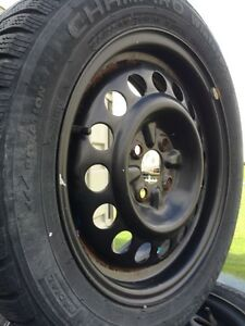 Snow tires and rims 2010 aveo