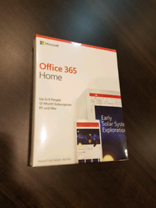 Office 365 Home (1 year, 6 devices)