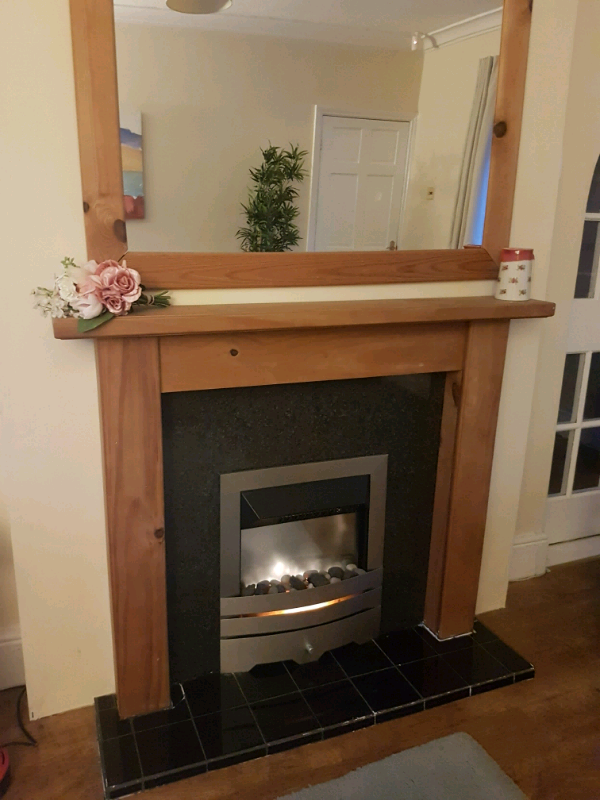 Fireplace Hearth And Electric Fire In East Boldon Tyne