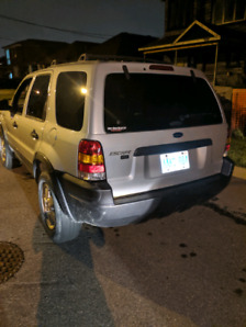 2004 ford escape xlt fully loaded