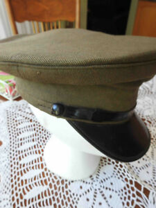 WW2 army dress hat (cap) Canadian