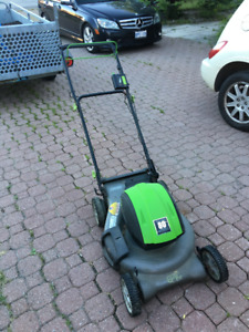 """Epic 20"""" Self-Propelled  Mower new batteries and charger"""
