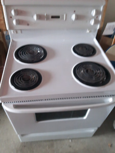 GE White Electric Stove/Oven for Sale - $125