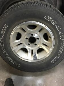 ford ranger rims and goodyear tires *4  Cambridge Kitchener Area image 2