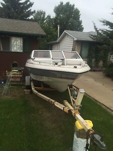 Boat for sale or trade for Harley