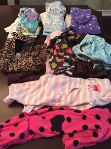 Bin of 6 month girl clothes