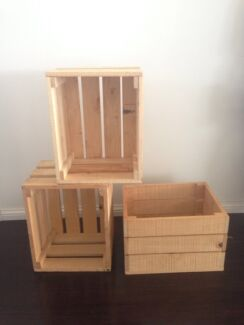Wooden Crates  Bundall Gold Coast City Preview