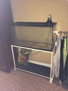 Reptile tank on stand Stratford Kitchener Area image 2