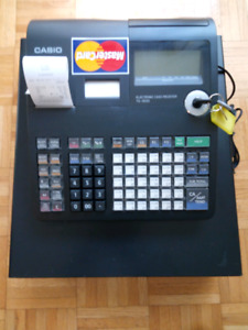 CASIO TE-1500  Electronic Cash Register for sale