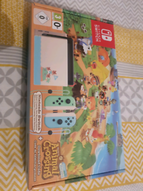 Nintendo switch animal crossing edition. BNIB