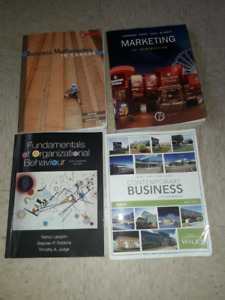 NSCC 1st year Business Administration books.