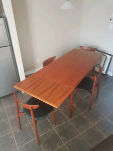 Mid Century Modern Teak Dining Set  - Randers - Denmark