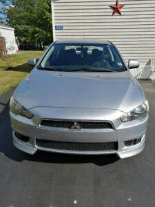 2009 Mitsubishi Lancer GTS 5 speed manual with 84 k