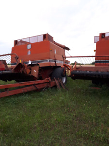 Parting out older farm equipment