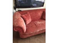 3 seater and 2 seater sofas chesterfields
