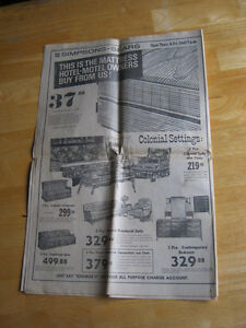 Heading to the Moon. 1969 NEWSPAPER. LAST CHANCE!! Cambridge Kitchener Area image 6